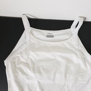 FILA Tennis match play cover up White Polyester